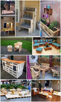 Repurposed Wood Pallet Projects