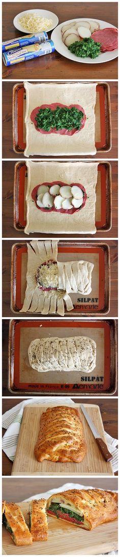 Irish Bread Braid (I post this for inspiration...I'd make a homemade healthier version)