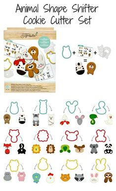 94 Pieces American Crafts Sweet Sugarbelle Shape Shifter Set and Tool Bundle