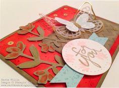 Cardbomb: WWYS #9: Mother's Love Maria Willis www.cardbomb.blogspot.com Stampin' Up! Butterflies Thinlits, Butterfly Basics