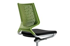 The TNK chair was the inspiration behind TNKid, a clear, simple, multi-purpose product. Manufactured by Actiu.