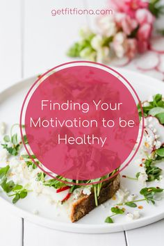 Finding Your Motivation to be Healthy Morning Meaning, Food Tracking, My Fitness Pal, Healthy Lifestyle Changes, Registered Dietitian, Make Good Choices, Motivate Yourself, Talking To You, Good Advice