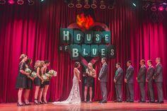 Cleveland House Of Blues Wedding Arcade Photos