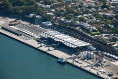 White Bay Cruise Terminal by Johnson Pilton Walker