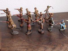 Konvolut Elastolin Masse & Kunststofffigur 13 Soldaten -3 | eBay