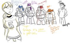 Wow!!!!Raph Is Blushing More Than Anyone!!!!! I Wonder If Raph Likes April? Donnie Would Be Soooo Jealous