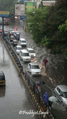 Heavy Rains in Mumbai, India Mumbai City, In Mumbai, Namaste, Andaman And Nicobar Islands, Bay Of Bengal, Arabian Sea, India And Pakistan, Photos Tumblr, Largest Countries