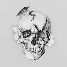 Dope art by a fan. Not sure who did it but assuming we find out, would you buy this design on a Papa Roach shirt? Dream Tattoos, Cool Tattoos, Papa Roach, Warrior Tattoos, Skeleton Art, Roaches, Dope Art, Skull Tattoos, Pencil Illustration