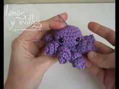 Tutorial Pulpo Octopus Amigurumi (English Subtitles) - YouTube