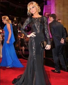 Love this Steven Khalil lace dress. My favourite dress at the 2012 Logie Awards.