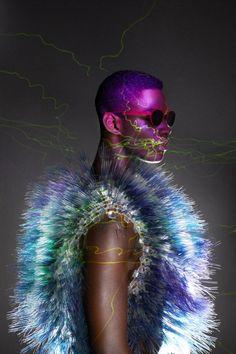 Peripetie Creates Spectacular Reflective Ads for 'Eyewear Magazine'