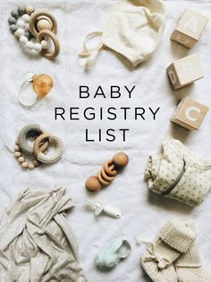 Registering for your first baby can be slightly overwhelming to say the  least. There are millions of baby products out there, and making so many  decisions over and over again can be paralyzing. It's also a total guessing  game in that you really don't know what you or your baby will like.     Being pregnant and growing a child can feel so largely out of your control,  and everyone copes with that differently. My way of dealing with that was  to control the one small area I could: by…