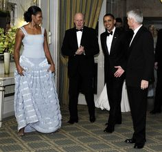 President Obama with the First Lady receiving the Nobel Peace Prize in Oslo, Norway, 12/10/2009