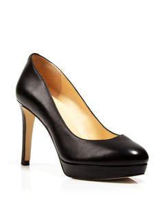 IVANKA TRUMP Platform Pumps - High Heel Nude High Heels, Shoes Heels Pumps, High Heel Pumps, Platform Pumps, Classic Style, My Style, Classic Fashion, Stitch Fix Outfits, Ivanka Trump