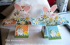 Stampin' with my Furbabies: Easter Box pop ups