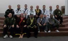 Alain Burrese, Writer, Speaker, Hapkido/Self-Defense Instructor, Mediator, back row, #6, at the Korean Martial Arts Seminar, Florida, 2014. Missoula, Montana
