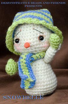 ~Snowbelle~  #amigurumi