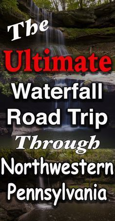 The Ultimate Waterfall Road trip Through Northwestern Pennsylvania Vacation Destinations, Vacation Spots, Cruise Vacation, Cruise Tips, Disney Cruise, Vacation Ideas, Weekend Trips, Day Trips, Friday Weekend