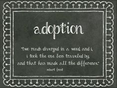 Quotes About Adoption Ok This With All Of Our Hand Prints In Paint On The Cardperfect .