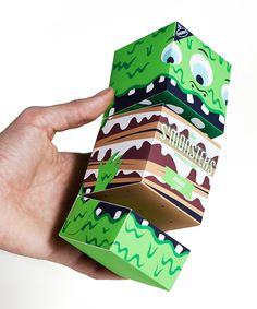 Monsters in Package Design Inspiration for Spring 2012