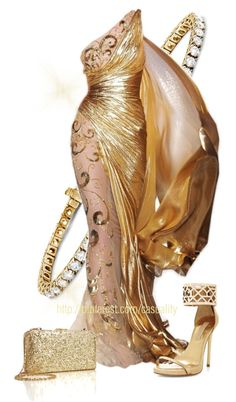 """Golden Goddess"" by casuality on Polyvore"