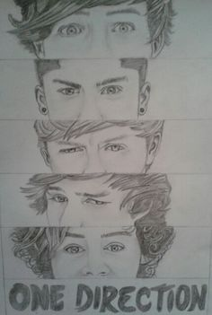 I try to draw one direction :-)