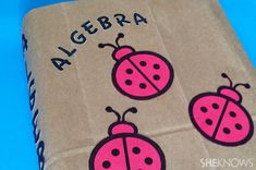 #DIY paper bag schoolbook covers-yep, we need to make this cool again for our kids!!