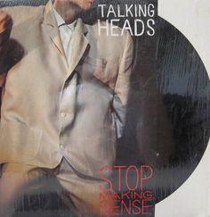 "Talking Heads Vinyl Record - ""Stop Making Sense"""