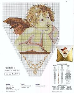 Gallery.ru / Фото #9 - вышивка крестом :Ангелы - Vladikana
