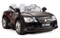 Tigris Wholesale Battery Powered - 12V 2 Seater Saloon (Black) - Availability: in stock - Price: £199.99