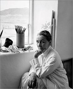 "Photo of Georgia O'Keeffe in New Mexico by Alfred Stieglitz. ""I've been absolutely terrified every moment of my life - and I've never let it keep me from doing a single thing I wanted to do."" ~Georgia O'Keeffe Georgia O'keeffe, Alfred Stieglitz, Wisconsin, New Mexico, Carolina Do Sul, C G Jung, O Keeffe, Portraits, Portrait Art"
