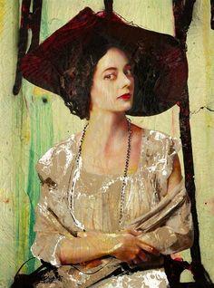~ Lita Cabellut: Coco Chanel