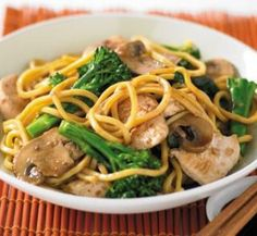 Soy chicken noodles | Healthy Food Guide