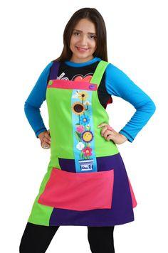 !Educadoras y Maestras de México! Decídete a dar ese cambio al frente de tu Alumnos. En Claus encontraras una gran linea de productos diseñados especialmente para ti.  Queremos que seas una Educadora de 10.! Visita nuestra pagina web.Batas de Educadoras, Batas Educadoras, y Batas para Educadora, Bata para Educadora, Batas Maestra Clown Dress, Dress Up, Baby Boom, Kids And Parenting, Work Wear, Jumper, Apron, Preschool, Sewing