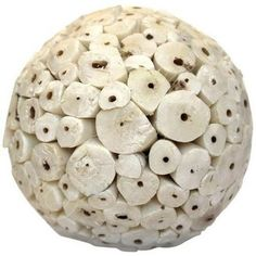 Ivory Large Decorative Balls I Available at  http://www.angelaromatics.com.au/scented-bowl-decorations/ivory-decorative-balls-for-bowls-australia