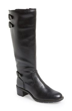 Softspots 'Carter' Water Resistant Riding Boot (Women) available at #Nordstrom