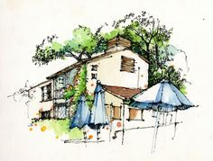 sketch by Chunling Wu on Land8Lounge