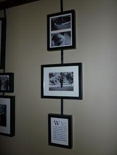 Wilsons and Pugs: Studio Wall Easel Diy Picture Rail, Ikea Frames, Easel, Pottery Barn, Pugs, Gallery Wall, Display, Rustic, Studio