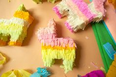 You can make cereal boxes into adorable piñatas!