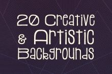20 Creative & Artistic Paper Backgrounds  ~~ We're all familiar with backgrounds, but some folks may not realize that they can be used for more than just a desktop wallpaper. You can use backgrounds to help add colorful and unique accents to your website, paper goods, and creative projects. The backg