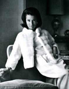 Lee Radziwill wearing Jasmine Emba for L'Officiel, 1963