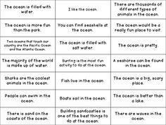 Ocean Fact or Opinion
