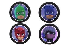 12-PJ-MASKS-birthday-party-cupcake-topper-food-picks-favors-SUPPLIES