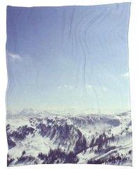 The Alps 2-Fleecedecke