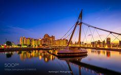 Bridge at the blue by huntergol