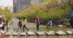 Seoul's Cheonggyecheon Stream