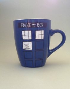The TARDIS / You'll dream about that box... / Doctor Who coffee or tea mug / Christmas gift for the Whovian on Etsy, $15.03