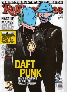 Daft Punk @Michelle Rolling Stone cover +:)