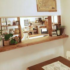 飾り棚 キッチンカウンター DIY - Google 検索