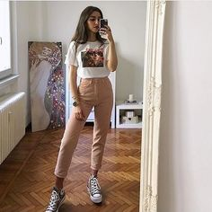 Discover all of our techwear/streetwear products and more on our site! Mode Outfits, Grunge Outfits, Trendy Outfits, Girl Outfits, Artsy Outfits, Insta Outfits, Look Fashion, 90s Fashion, Korean Fashion